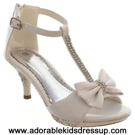 adorable kids dress up kids high heels shoes girls tea kids high heels white high heel shoes perfect for a