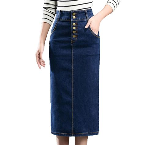 buy wholesale stretch denim skirt from china
