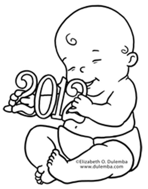 baby new year coloring pages dulemba coloring page tuesdays kwanzaa and new years