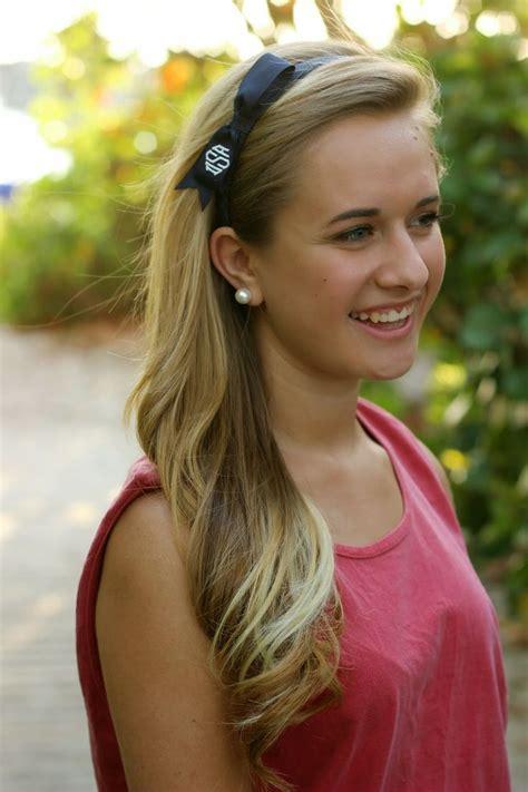 hairstyles bow headband monogram bow headband monogrammed bow bow headband