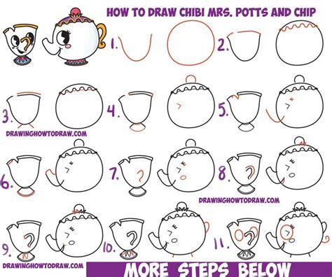 Disney Drawings Step By Step