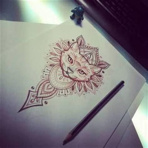 tattoo cat mandala mais de 1000 ideias sobre tatuagem mandala no pinterest