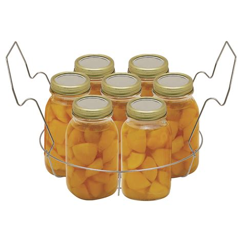 Canning Rack by Stainless Steel Canning Rack With Jar Dividers Vkp1057