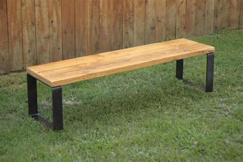 metal wood bench arbor exchange reclaimed wood furniture reclaimed wood