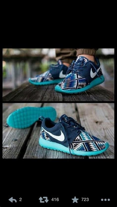 tribal pattern nike roshe shoes nike roshe run nike tribal pattern aztec roshoe