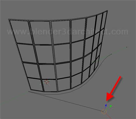 curved curtain wall modeling for architecture how to create curved curtain