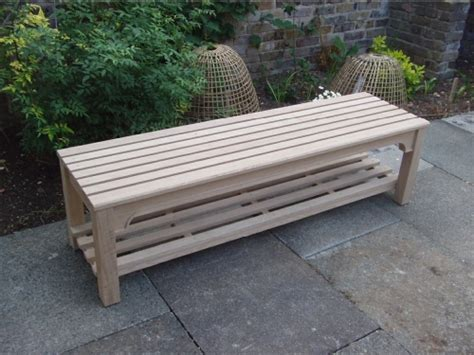 bespoke benches bespoke backless bench