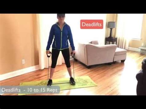 resistance band lower workout for abs and legs quads glutes