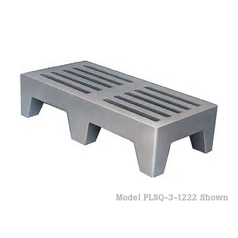 What Is A Dunnage Rack by Buy Win Holt Plsq 3 1222 Gy Plastic Perforated Dunnage
