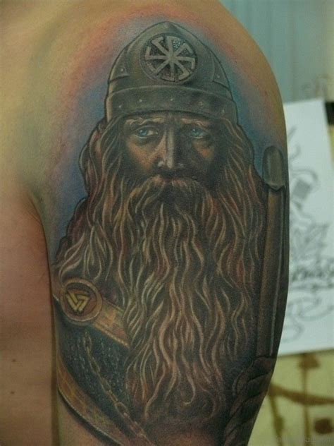 incredible tattoos 90 viking shoulder tattoos