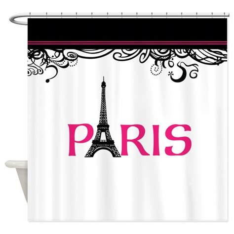 parisian shower curtain paris shower curtain by inspirationzstore