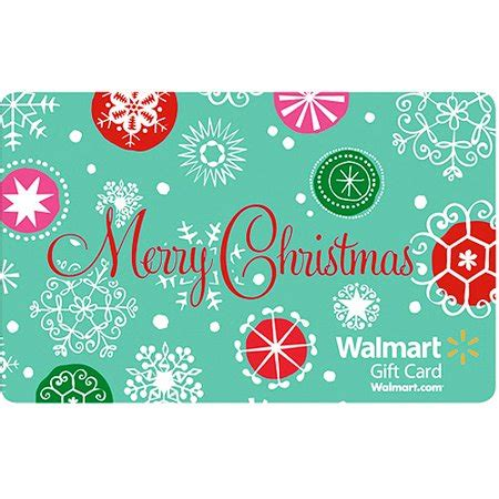 green merry christmas gift card walmartcom