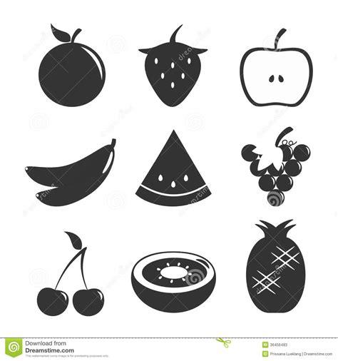 imagenes blanco y negro de frutas blanco negro determinado de la fruta imagen de archivo