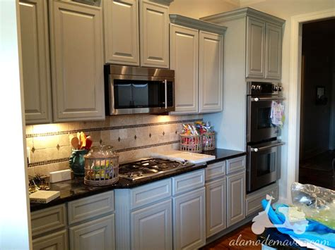 painted cabinets in kitchen painted kitchen cabinets home design and decor reviews