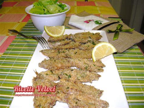 cucinare le alici al forno alici al forno con pane ricette veloci di tania