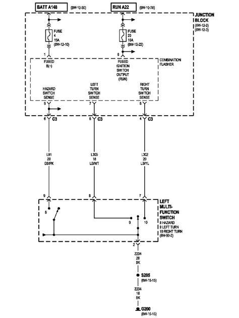 2002 Jeep Grand Cherokee Laredo turn signals - Motor