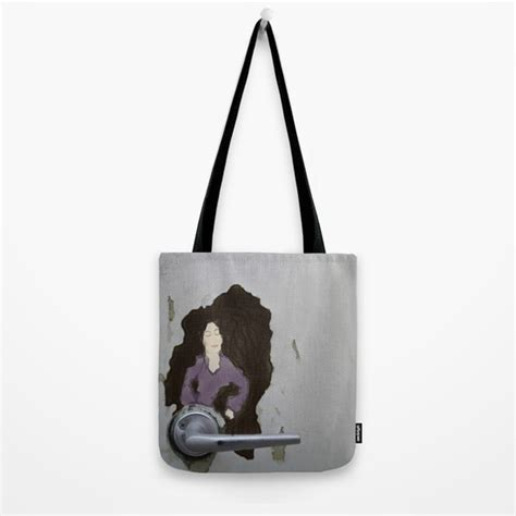 the door knob tote bag by antwoman society6