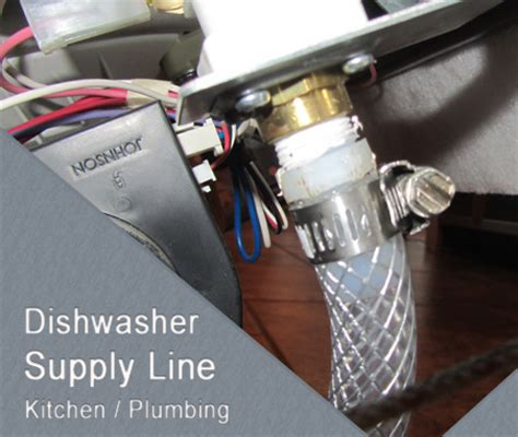 Where Can I Buy Plumbing Supplies by Dishwasher Water Supply Line Installation