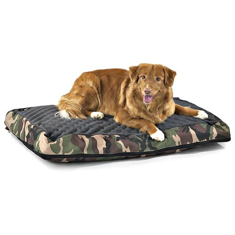 camo dog bed camo dog bed medium 124728 kennels beds at sportsman
