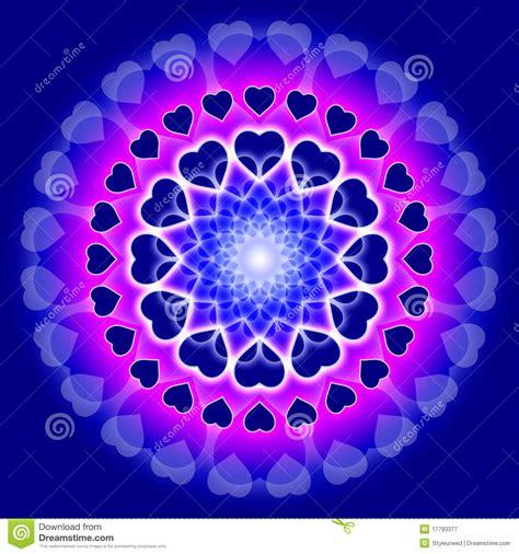 imagenes mandala del amor mandala azul del amor c 237 rculo de corazones fotograf 237 a de