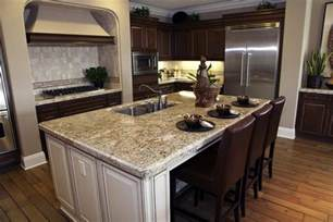 kitchen granite island granite countertops the top quality element in kitchens