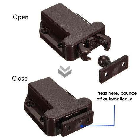 magnetic push latch cabinet push to open beetles lock cabinet latch catch touch