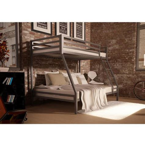 Your Zone Premium Twin Over Full Bunk Bed Multiple Colors Your Zone Bed
