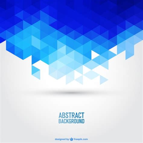 blue wallpaper vector free download blue geometric background vector free download