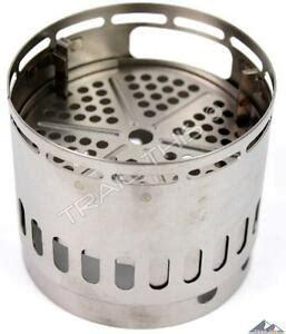 evernew ultralight titanium ti dx pot stand use w stove wood solid fuel ebay