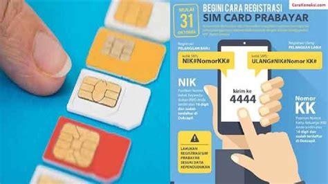 detik registrasi sim card bantah hoaks kominfo sebut registrasi sim murni untuk