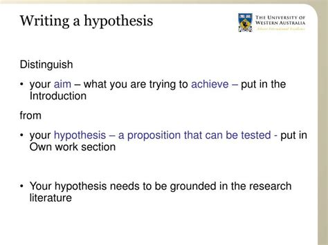 how to write a hypothesis in research paper how to write a hypothesis for a research paper 28 images