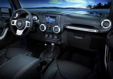 wrangler interni jeep wrangler polar edizione limitata della 4x4 americana
