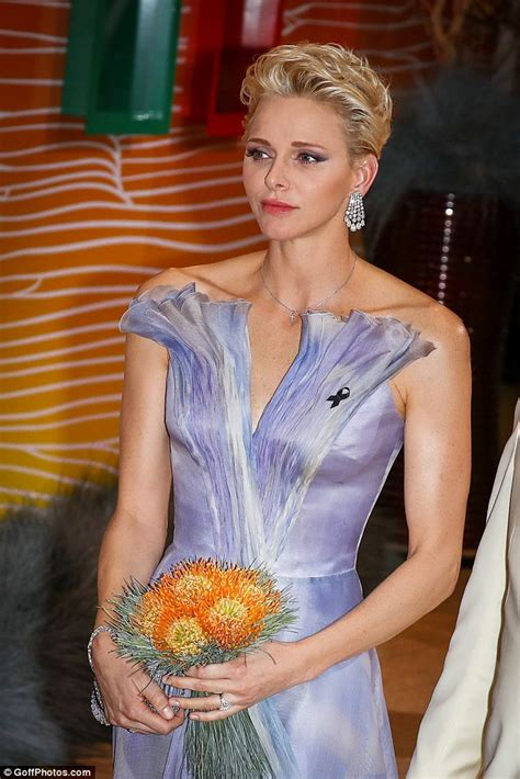 princess charlene steals the limelight at the cross
