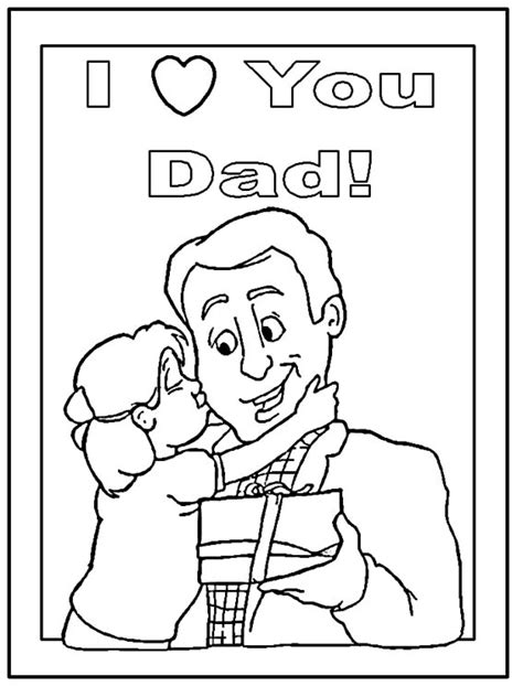 i love my dad coloring pages coloring pages