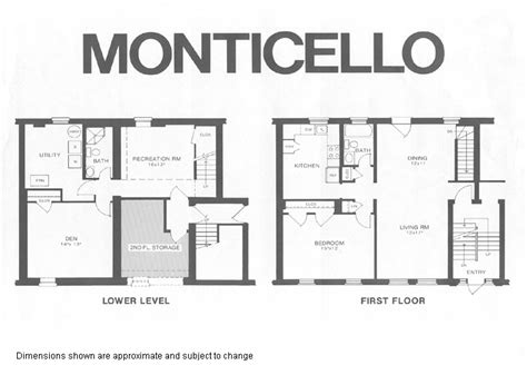 monticello floor plan quot tweedland quot the gentlemen s club thomas jefferson s
