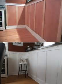 Diy Wainscoting Hammers And High Heels Wainscoting Tutorial Getting My
