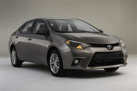 Toyota 2014 Corolla New 2014 Toyota Corolla Unveiled Eco Model Aims At 40 Mpg