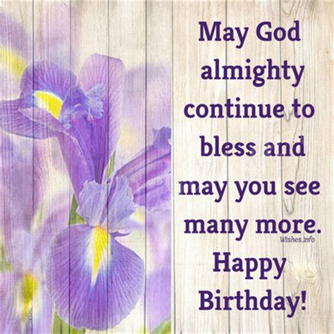 Happy Birthday May God Fulfill All Your Wishes Religious Birthday Wishes