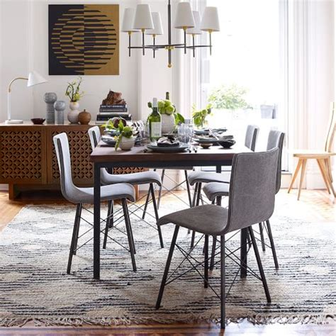 west elm dining room table industrial dining table west elm