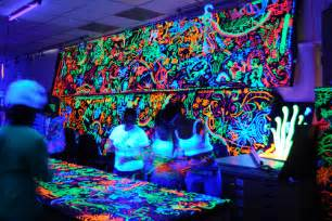 awesome cool doodle glow in the neon image