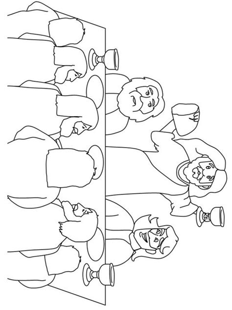 lds coloring pages last supper pinterest the world s catalog of ideas