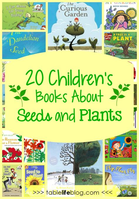 seeds of books what to read 20 children s books about seeds and plants
