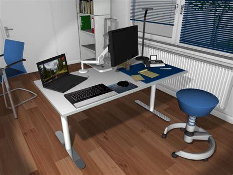 Schreibtisch Einrichten Ed For