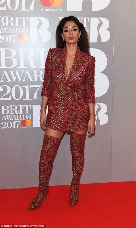Catwalk To Carpet Scherzinger by Or Hmm Scherzinger S 2017 Brit Awards