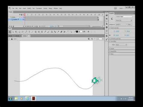 tutorial flash motion guide motion guide flash cc tutorial youtube