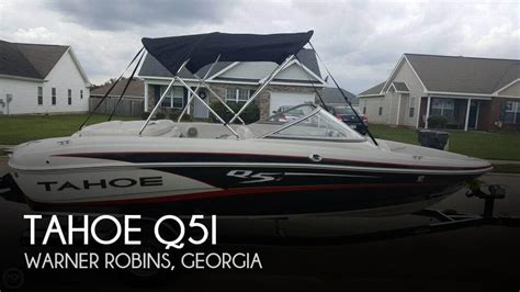 used tahoe boats for sale in georgia for sale used 2013 tahoe 19 in warner robins georgia