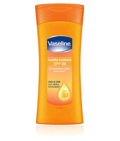 Jual Sunblock Vaseline Untuk Wajah vaseline h sunblock spf 30 100ml medanmart