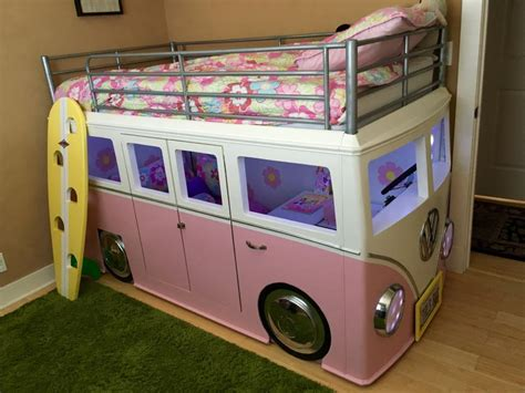 bus bed the best vw bus bed i have seen to date volkswagen cer with built in desk