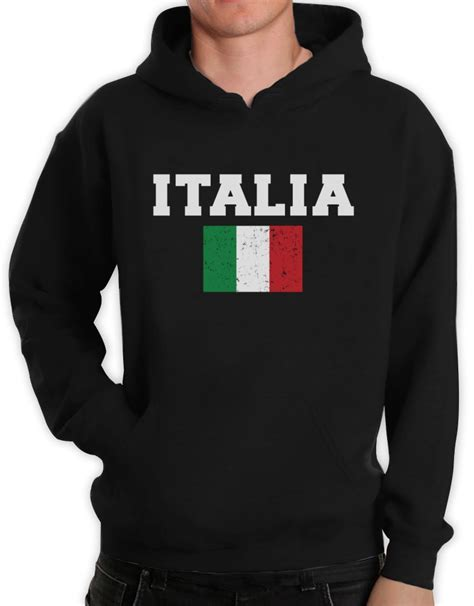 Hoodie Italy italia flag hoodie world cup 2014 distressed italy forza italian pride flag fan ebay