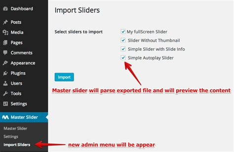 appscare edit the master of an imported theme in google master slider premium wordpress slider plugin
